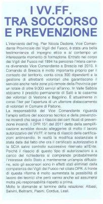 I VV.FF. tra soccorso e prevenzione