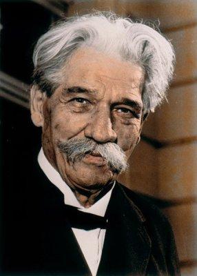 il Dr. Albert Schweitzer