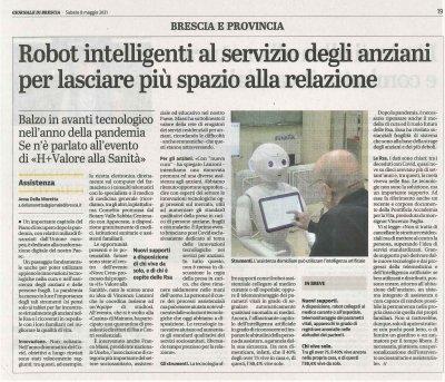 Robot intelligenti al servizio degli anziani
