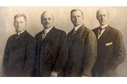 Gustavus Loehr, Silvester Schiele, Hiram E. Shorey, Paul P. Harris