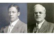 A sinistra, Harry L. Ruggles, ottobre 1912. A destra, Silvester Shiele, prima di dicembre 1945.